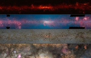 ESO Multispectral view of Milky Way