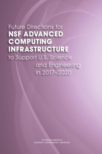 NSF adv computing infrastructure report cover