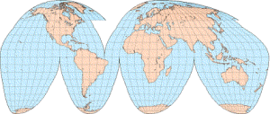 Goode Homolosine Projection