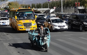 Cargo scooter Lhasa